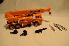 Transformers original G1 vintage 1985 Grapple 100% complete Autobot Crane