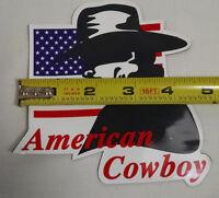 "MAGNETIC MAGNET REMOVEABLE STICKER ""AMERICAN COWBOY"" MARLBORO MAN"