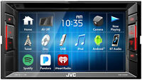 "JVC KW-V140BT 6.2"" 2-Din In-Dash DVD Player Receiver w/Bluetooth iPhone/Android"