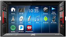 """Jvc Kw-V140Bt 6.2"""" 2-Din In-Dash Dvd Player Receiver w/Bluetooth iPhone/Android"""