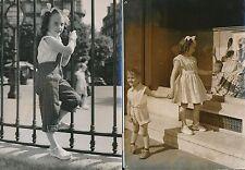 Mode 1952-55 - 11 Photos Haute Couture  Mode Enfant  Paris - LPR 12