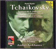 Andrei anikhanov: Tchaikovsky Symphony No. 6 ORO CD The Tempest pathetique