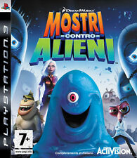 GAME PS3 MOSTRI AGAINST ALIENS ACTIVISION COMPLETELY IN ITALIAN