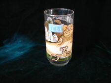 Vintage Star Wars Jedi Glass Tumbler ~ Collectible Star Wars Jedi hand painted