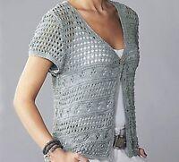 cap sleeved cardigan knitting pattern 99p