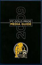 2009 FC Gold Pride WPS Soccer Media Guide WUSA #FWIL