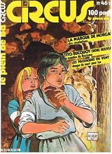 CIRCUS N° 46 LE PLEIN DE BD GLENAT FEVRIER 1982 TRES BON ETAT