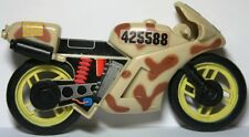 Lanard CORPS Military Vehicle Motorcycle Tan Brown Yellow USA Flag