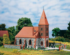 AUHAGEN 11405 - H0 KIT - Church - New Original Packaging