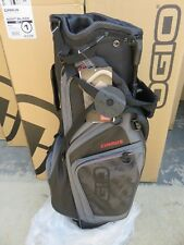 NEW Ogio 2018 CIRRUS SOOT BLACK 7 Way Divider Carry / Stand Bag