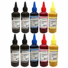10 x 100ml Sublim Dye Sub sublimazione Sharp Inchiostro Set 4 colori per stampanti Epson
