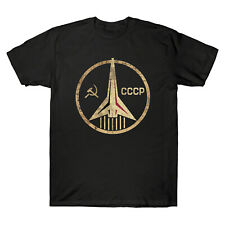 CCCP Russian Soviet Union USSR Space Air Force T-Shirt Hammer and Sickle