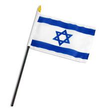 "Israel Star Flag 4""x6"" Desk Table Stick"