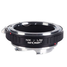 Nikon-L/M Adapter Ring for Nikon F mount Nikkor AI lens to Leica M L/M LM Camera