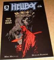 Hellboy Wild Hunt #2 Mike Mignola 1st Nimue Blood Queen Dark Horse 2008 movie