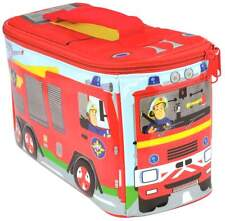 Fireman Sam Fire Engine Lunch Bag/Box | Fire Truck | The Hero Next Door