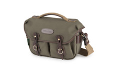 Billingham Hadley Small Pro Camera Bag in Sage Fibrenyte/chocolate Leather