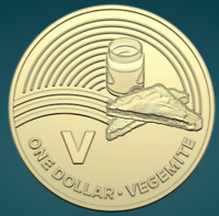 THE GREAT AUSSIE COIN HUNT | 2019 | UNC ONE DOLLAR | 'V' FOR VEGEMITE