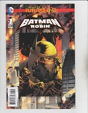 DC Comics! Batman & Robin! The New 52! Issue 1! Futures End!