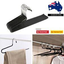 HANGER Open Ended Anti-rust Metal Slack Pant Hangers