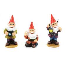 Miniature Dollhouse Fairy Garden - Joyful Gnomes - Set of 3 - Accessories