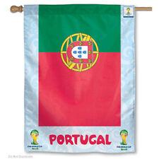 World Soccer Portugal National Team FIFA World Cup House Flag