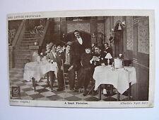 RED LETTER PHOTOCARD - Charlie Chaplin - A Small Flirtation - 1915