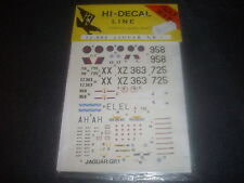 HI-DECAL LINE JAGUAR GR.1 1/72  72-004