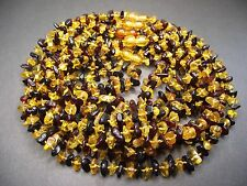 Lot 10 Genuine Baltic Amber Baby Necklace Mixed Color 12.20 - 13.00 inches