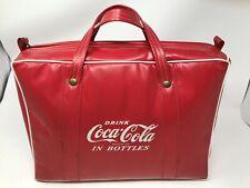 Vintage 1954 Coca-Cola Vinyl Cooler New Old Stock w/ Original Advertisements