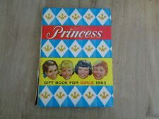 Vintage 1963 1st Ed  HB- Princess Gift Book for Girls GC