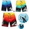Men Board Shorts Surf Beach Sport Swim Wear Leisure Trunks Pants Swimsuit 30-38