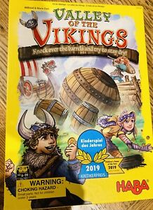 Valley of the Vikings 2019 Haba Children's Game of the Year winner - AS NEW!