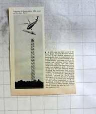1962 Esher Rugby Ground Hersham Surrey Hundred Foot Radar Tower