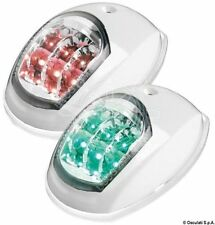 LIGHTS BY VIA GREEN AND RED LED 12 V EVOLED FOR BOATS UP TO 12 MT