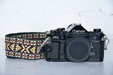 Canon A1 35mm SLR Film Camera Body Only A-1 FD Lens Mount Finger Grip A-1