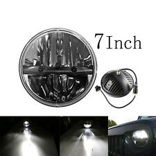 7inch LED Headlight for 97-15 JEEP Wrangler Harley Davidson H4 High/Low Beam 40W