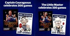 GARY ABLETT 350 Games + JOEL SELWOOD 300 Games AFL Geelong A2 Posters 59 x 42cm
