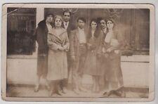 CARTE PHOTO  --  AU DOS :  FEVRIER 1931 A LA ROCHE SUR YON   577.C