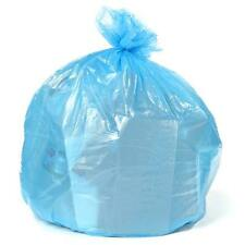Plasticplace 55-60 Gallon Recycling Bags - Blue, case of 100 bags