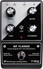 Moog MF-FLANGE Minifooger Wide-Range Flanger Analog Guitar Effect Pedal