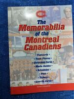 RARE MONTREAL CANADIENS MEMORABILIA GUIDE BOOK MINT