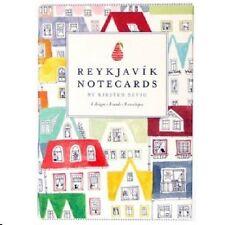 Reykjavik Notecards Set, NEW