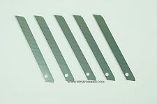 Excel Snap-off Light Duty Blades 5pcs 20003 Made in U.S.A.