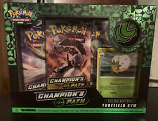 Pokémon TCG: Champion's Path Pin Collection Turffield Gym- New In Hand!!