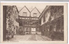 Gloucester; New Inn,  PPC Unused by Davies & Son, RA Series, Courtyard Interior