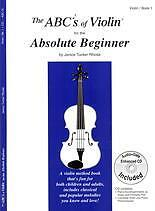 ABC's OF VIOLIN 1 Absolute Beginners + online*