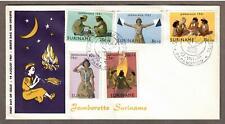 Suriname # B80 - B84 , Girl Scout Jamboree Fdc - I Combine S/H