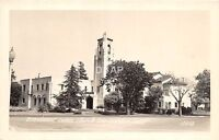 California Ca Postcard Photo RPPC c1940s SAN LEANDRO Broadmoor Community Church