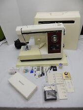 KENMORE 158.1787180 Sewing Machine with Case & button holer kit. vintage metal